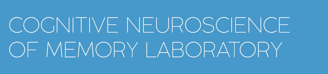 Cognitive Neuroscience of Memory Lab